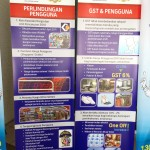 GST Standing Fishtail Banners, 2014