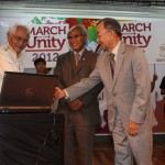 March on for Unity - Launching of Yayasan Perpaduan Sarawak's website, 2012