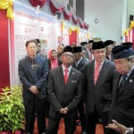 Exhibition at the Opening Ceremony of UPM attended by Sultan of Selangor in Bintulu, 2014