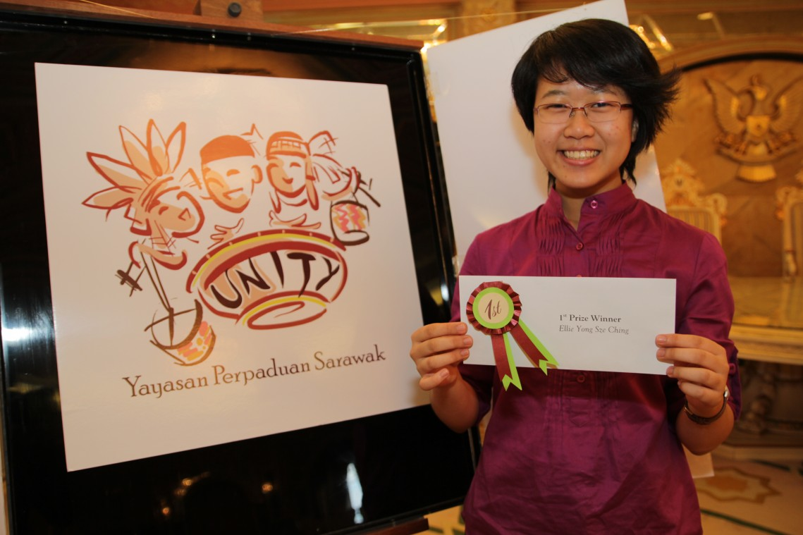 Ellie Yong Sze Ching, 1st Prize Winner of the YPS Logo Design Competition