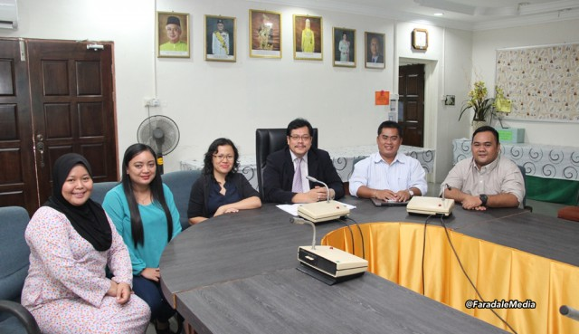 Visit to Miri Resident Office